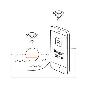 parowanie telefonu lub tabletu z fish deeper