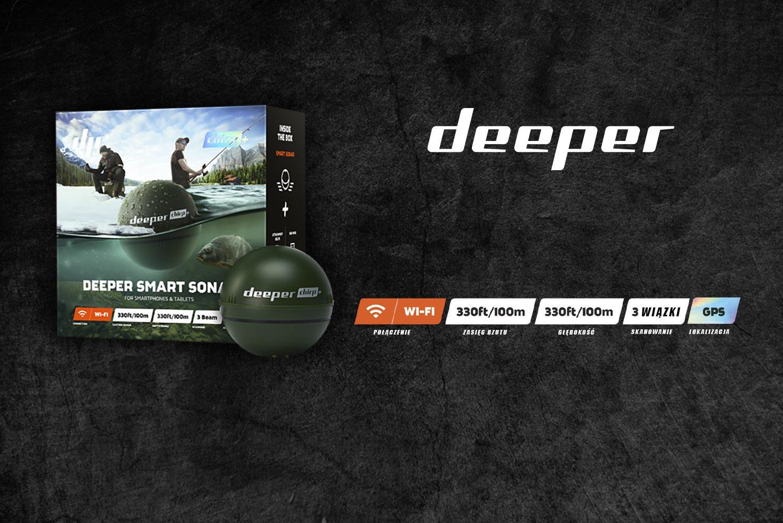 Najnowszy Deeper CHIRP+ ! KUP TERAZ ! AUTORYZOWANY SKLEP !